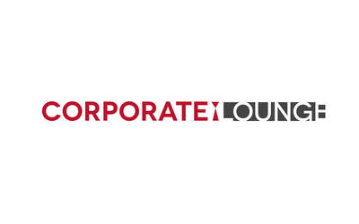 corporate lounge logo by ishee