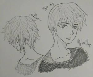 kyo and luna by ChaosAna13