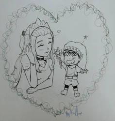 A beautiful couple by ChaosAna13