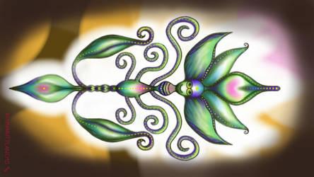 sprout fairy by KOSMONAUTPLANEMO