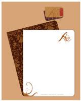 Letter Head: Aqua by Rat-Hobo