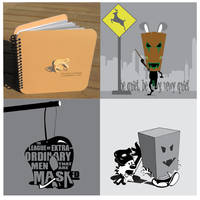 Mask Icon book by Rat-Hobo