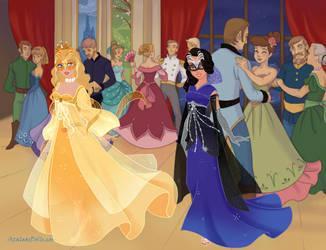 Royal Masquerade by IrishSkye