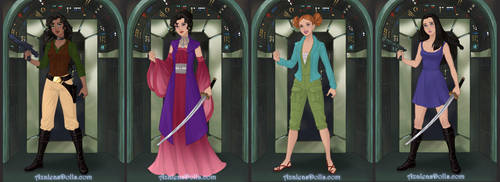 Ladies of Firefly by IrishSkye