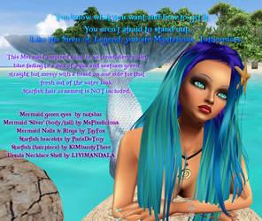 Sarika Hairstyle in Mermaid by IrishSkye