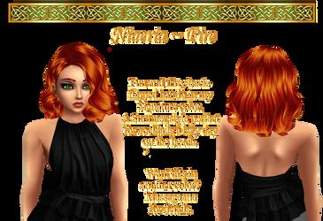 Niaeria hairstyle in Fire by IrishSkye