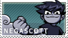 Negascott Stamp by TheLifeOfGaston