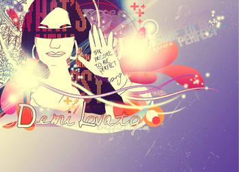 Demi Lovato by trafficlightsx