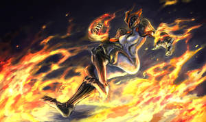WF : Ember World on Fire by Beriuos