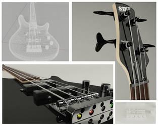 Ibanez SDGR Bass Close by JambioO