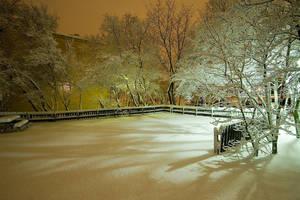 Snowy Landscape by photodeus