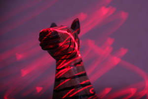 Laser light painting by photodeus