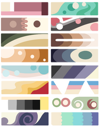 F2U Color Palettes! Cream by Smelly-Mouse