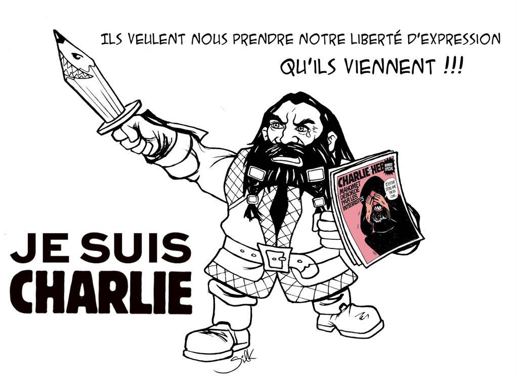 #JesuisCharlie by SilkJo