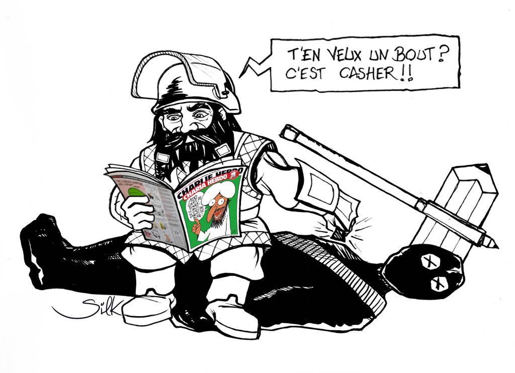 Muramine Je suis Charlie by SilkJo