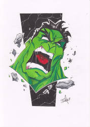 The Hulk by 2hotty7