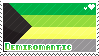 Demiromantic stamp by babykttn