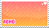 ADHD stamp by pulsebomb