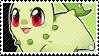 Chikorita stamp by babykttn