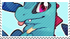 Totodile stamp by pulsebomb