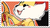 Fennekin stamp by pulsebomb