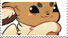 Eevee stamp by pulsebomb