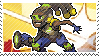 Pixel spray stamp: Lucio by babykttn