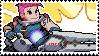 Pixel spray stamp: Zarya by babykttn