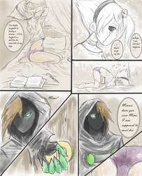 Grim Tales Comic Page 2 by Mlain
