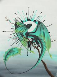 Poison Dragon by HASBEAN