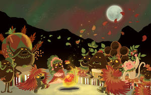 The Deku Autumn Festival by monkeykaos