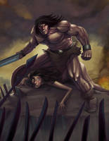 Conan the barbarian by toonfed