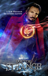 Dr Strange movie by toonfed