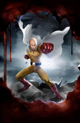 One Punch man by toonfed
