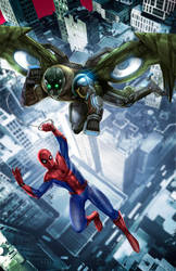 spidey v vulture 2 by toonfed