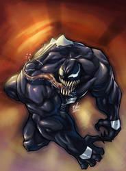 Venom in technicolor by toonfed