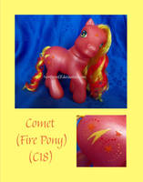 Comet the Fire Pony by NorthernElf