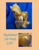 Skyshimmer the Air Pony by NorthernElf