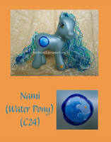 Nami the Water Pony by NorthernElf