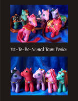 YTBNT MGR Pony Customs by NorthernElf