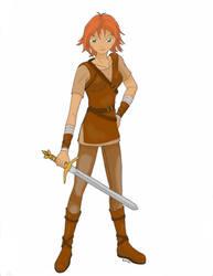Avarielle Warrior of Darkness by NorthernElf