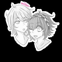 [RQ] Phill and Rimyu by Miipom