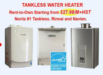 Tankless water heater rental by acfurnace