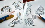 Poke Dragons by tashcrow