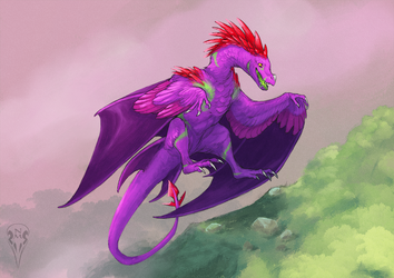 Commission Axikor by tashcrow