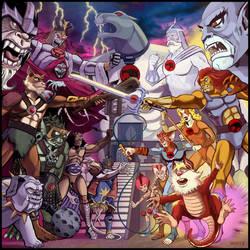 Thundercats by bbqedmarv