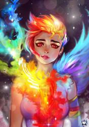 Rainbow Burst by E-X-P-I-E