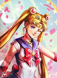 Sailor Moon by E-X-P-I-E