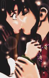 +InuKag+ Amazing Kiss by UchihaAkio