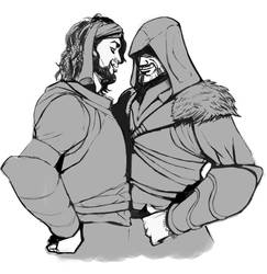 Ezio y Yusuf : work in progress. by Mokinow